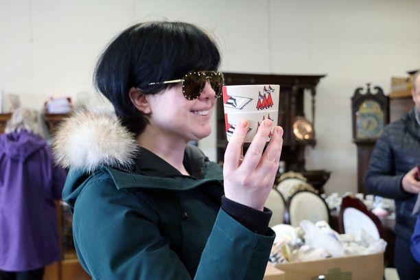 Alyona Juntusen sunnuntaina huutama muumimuki ei ole hänen kokoelmansa kallein. Arvokkain on hänen mukaansa Fazerin muumimuki, jonka arvo on tällä hetkellä yli 10 000 euroa.