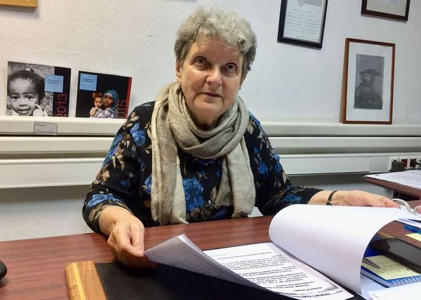 Nobelin rauhanpalkinnon ehdokkaana mainittu Grazdanskoe sodeijstvie-järjestön johtaja Svetlana Gannushkina arvostelee presidentti Putinia turvapaikanhakijoidenvaikeasta tilanteesta.