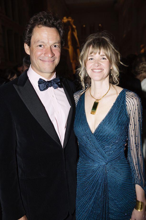 Dominic West ja Catherine Fitzgerald ovat olleet naimisissa vuodesta 2010 alkaen.