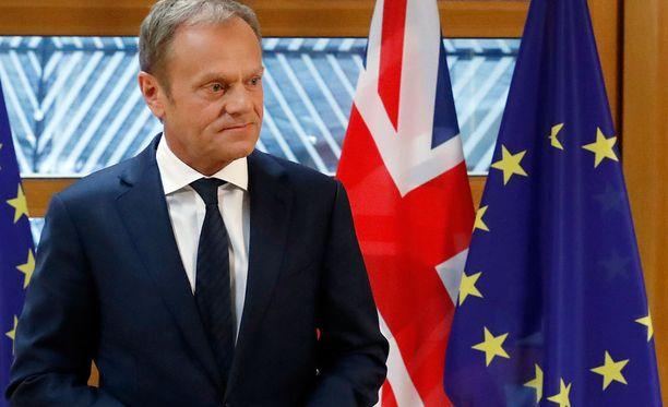 Donald Tuskin mielestä tämä ei ole hyvä päivä Lontoossa eikä Brysselissä.
