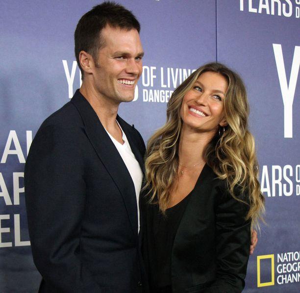 Brady on naimisissa huippumalli Gisele Bündchenin kanssa.