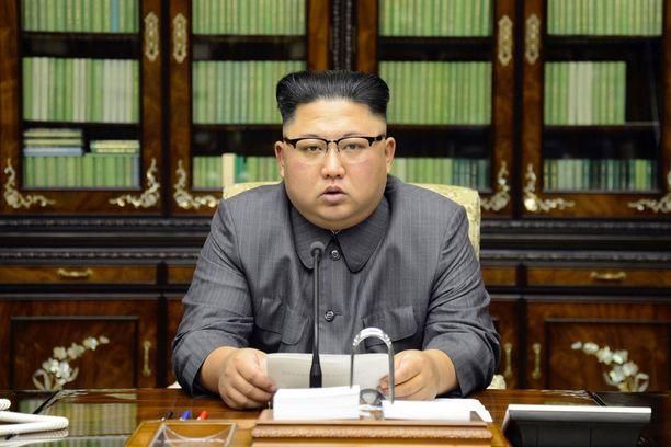 Kim Yong-Un sanoi viime viikolla, että Trump saa maksaa kalliisti uhkauksistaan.
