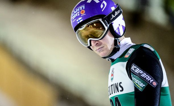 Ville Larinto oli sunnuntain paras suomalaismäkihyppääjä.