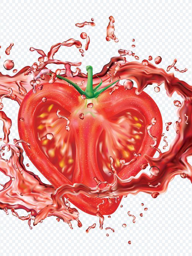 Tomaatin on todettu voivan osaltaan pienentävän syöpäriskiä ja ehkäisevän myös masennusta.