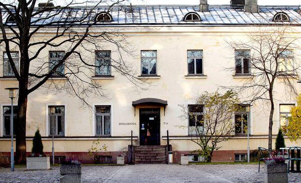 Helsingin yliopiston valtiotieteellinen tiedekunta.