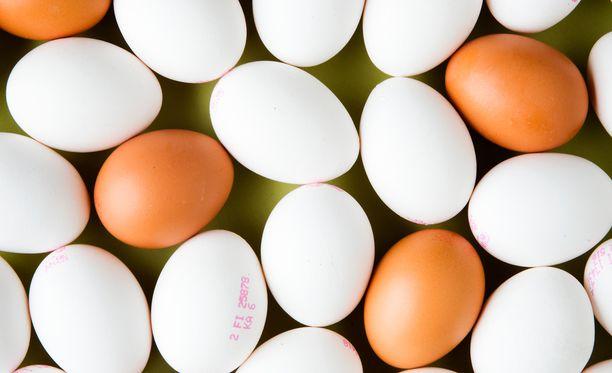Onko näillä kananmunilla mitään muuta eroa kuin väri?