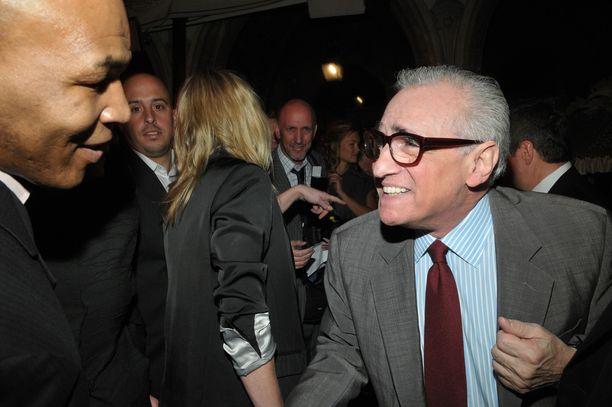 Kaksi lajiensa legendaa, nyrkkeilijä Mike Tyson sekä elokuvaohjaaja Martin Scorsese kuvattuna vuonna 2008.