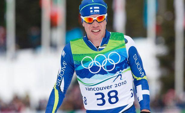 Juha Lallukka edusti Suomea Vancouverin olympiakisoissa 2010.