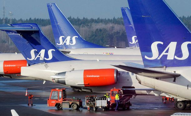 SAS on Pohjoismaiden johtava lentoyhtiö.