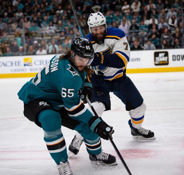 25 minuutin peliajan huhkinut Erik Karlsson jäi ilman tehopisteitä.
