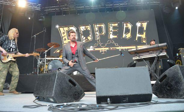 Popeda Iskelmä-festivaaleilla kesällä 2015.