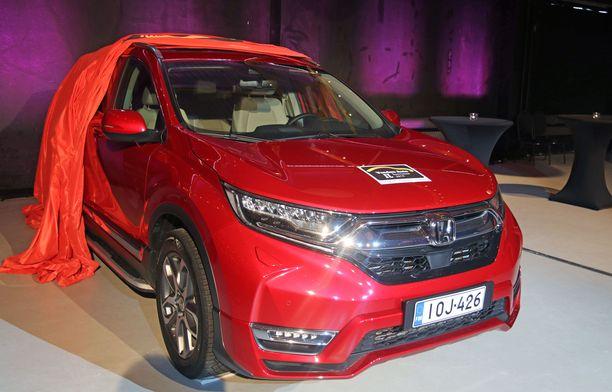 Honda CR-V vakuutti keskikokoisten SUVien luokassa tuomariston.