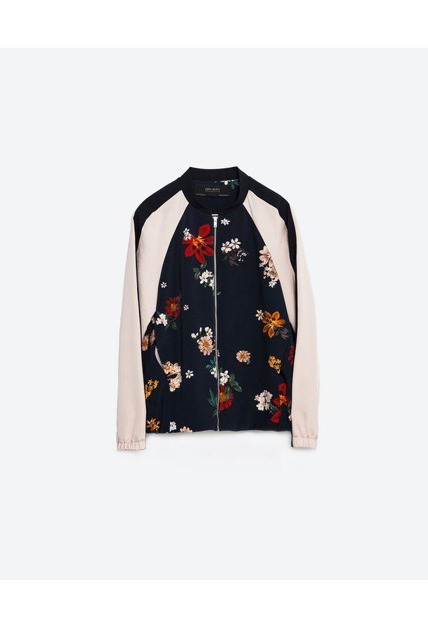Zaran suloinen bomber-takki on täydellinen kevääseen, 49,95 e