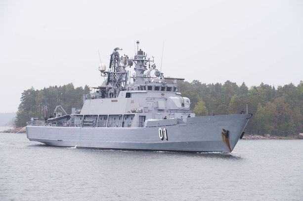Hämeenmaa-luokan miinalaivat osallistuvat Seuran mukaan huipputapaamisen turvallisuusjärjestelyihin. Kuvan Pohjanmaa-alus on jo poistettu käytöstä.