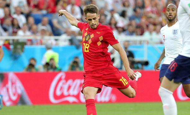 Adnan Januzaj laukoi Belgian 1-0-voittoon ja G-lohkon ykköseksi.