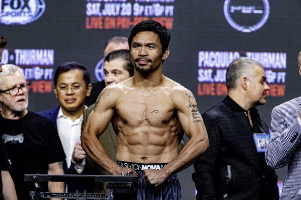 Manny Pacquaio ottelee kuitenkin mestaruusvyöstä elokuussa.
