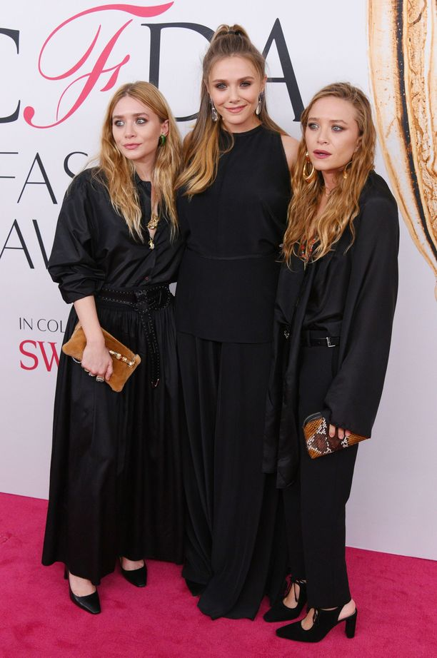 Mary-Kate, Elizabeth ja Ashley Olsen