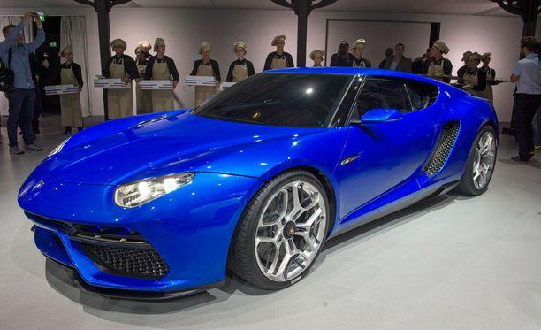 Lamborghinin uusi Asterion LPI 910-4 Is A 910