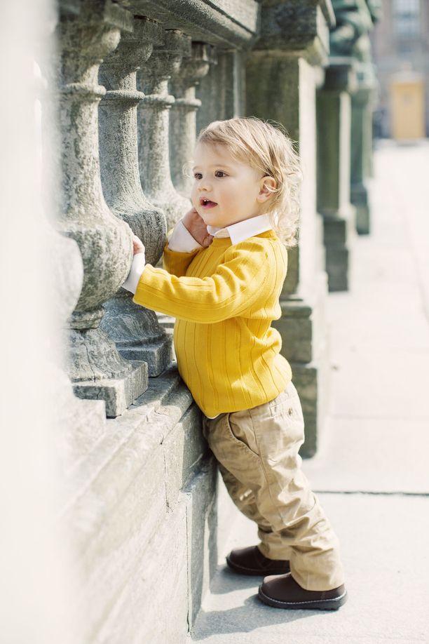 Prinssi Alexander on prinsessa Sofian ja prinssi Carl Philipin esikoinen.