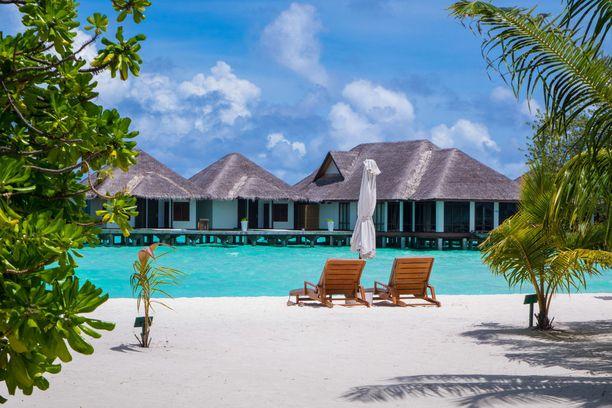 Malediivit tunnetaan luksuskohteena.