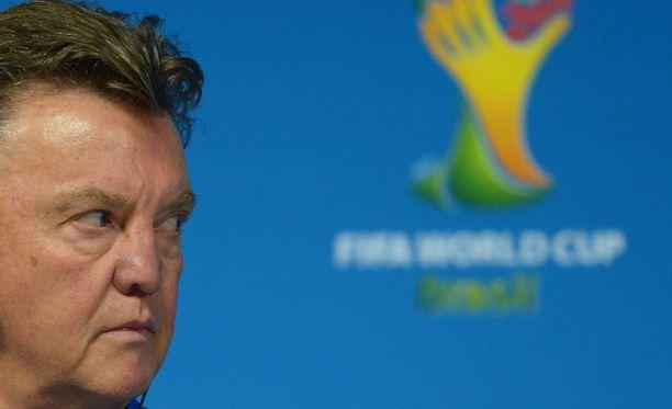 Louis van Gaal yrittää juonia Argentiinan nurin.