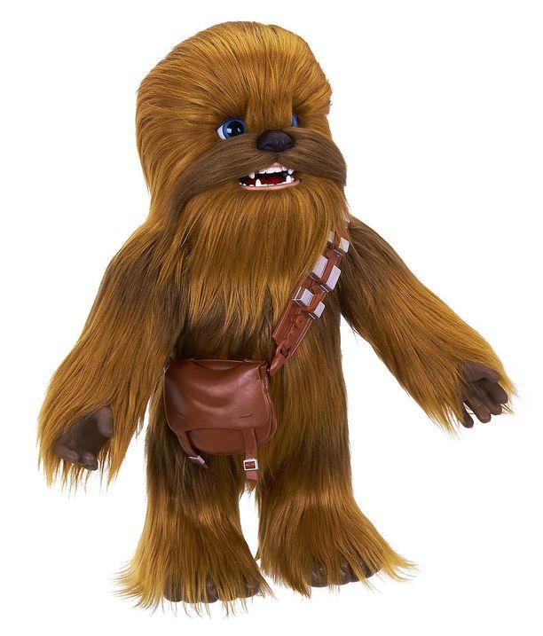 Yhteen kammioon sijoitettiin Chewbacca-nukke.