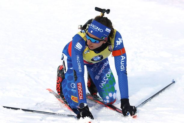 Lisa Vittozzi murtui torstaina Oslossa.