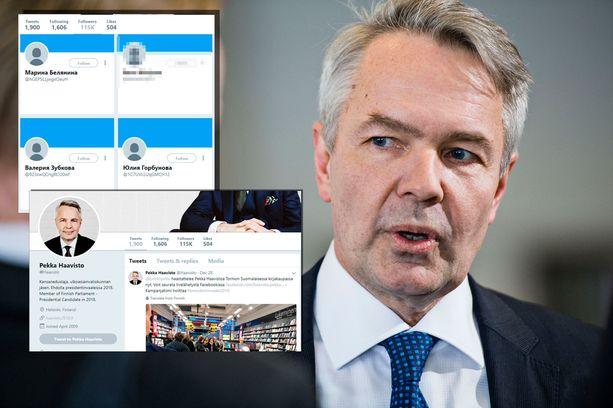 Twitteriin Haaviston kampanjapäällikkö Riikka Kämppi kertoo ottaneensa yhteyttä joulun alla. Lauantaina 16.12. Haaviston tilille oli tullut 1 762 seuraajaa.