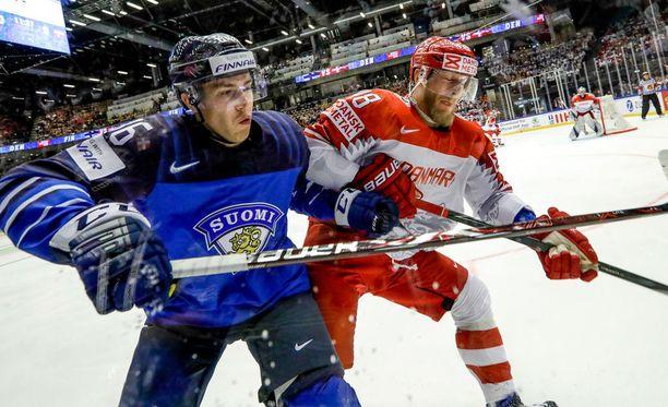 Suomen Teuvo Teräväinen ja Tanskan Emil Kristensen väänsivät keskiviikkoehtoona Herningissä.