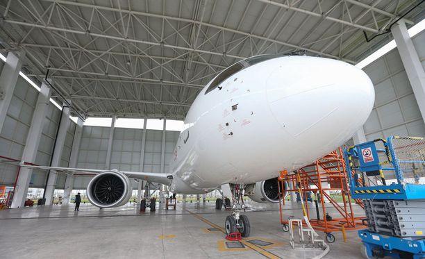 C919-kone on tarkoitus ottaa käyttöön lähes kaikilla Kiinan sisäisillä lentoreiteillä.