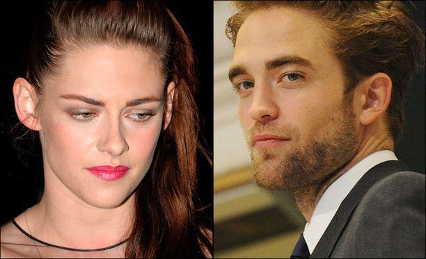 Kristen Stewartin ja Robert Pattinsonin suhde jaksaa kiinnostaa.