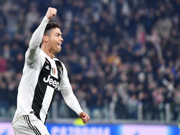 Cristiano Ronaldo on ESPN:n mukaan maailman tunnetuin urheilija.