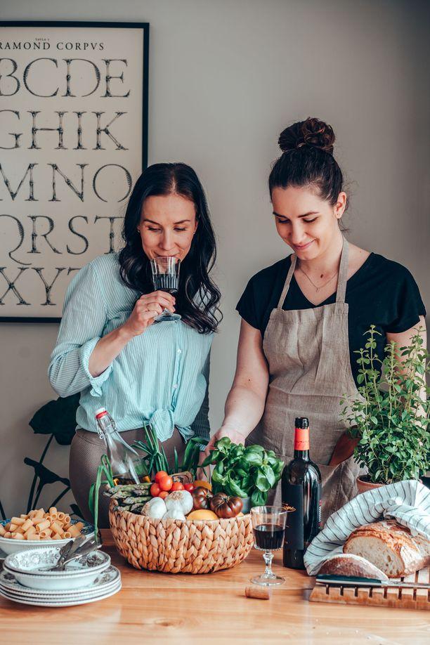 Pastamuijat on Annin ja Giulin yhtenen projekti rakkaudesta italialaiseen ruokaan.