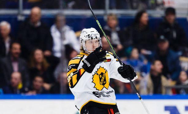 Selma Ahon isoveli Sebastian Aho pelasi viime kaudella Skellefteån riveissä. Tällä kaudella hän on pelannut AHL:ssä.