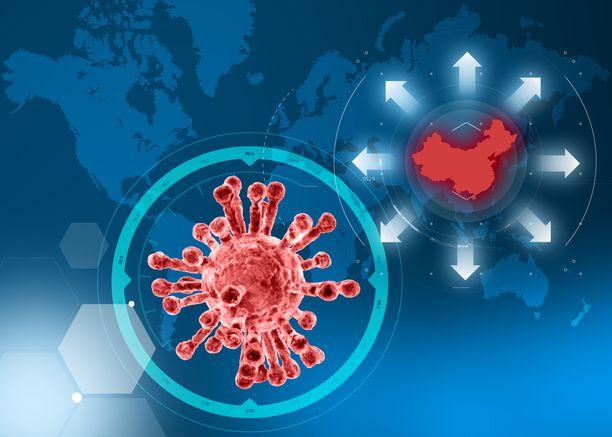 Koronavirus on aiheuttanut Kiinassa satoja todettuja sairastapauksia.