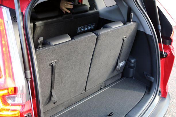 Ensimmäistä kertaa CR-V on tarjolla myös 7-hengen versiona.