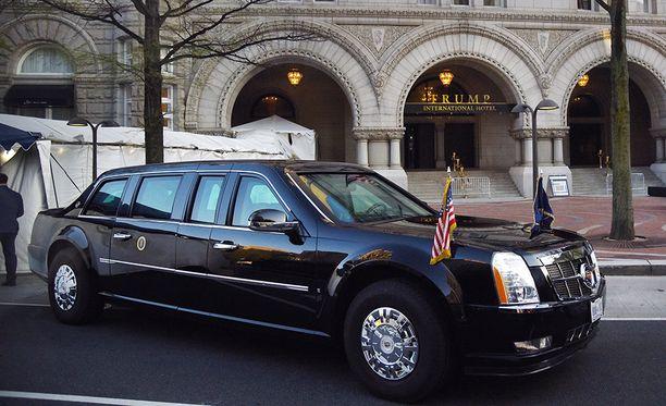 Peto on rakennettu Cadillacin pienen kuorma-auton rungolle.