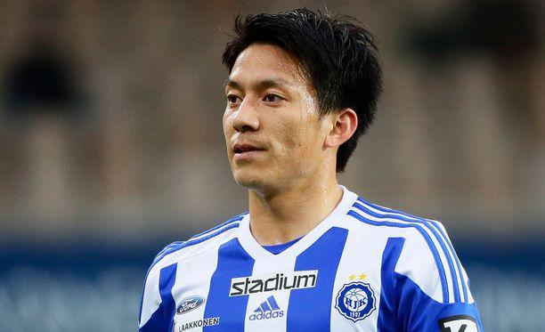 Atomu Tanakaa ei nähdä HJK-nutussa Eurooppa-liigan karsinta-avauksessa.