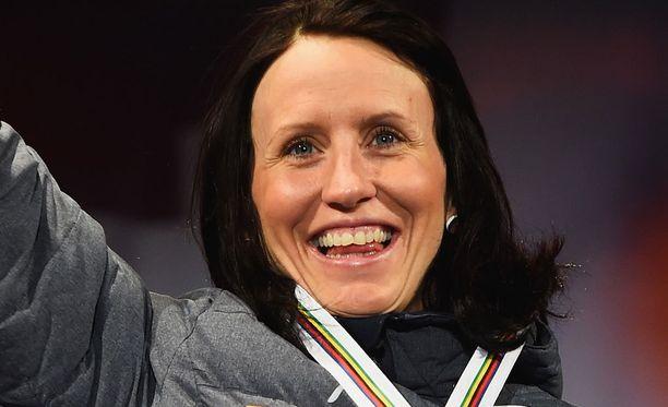 Marit Björgen kertoi iloisen uutisen.