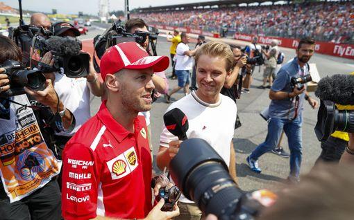 Nico Rosbergilta raaka tuomio Sebastian Vettelin tilanteesta - toinenkin saksalaistähti kyllästyi maanmiehensä selityksiin