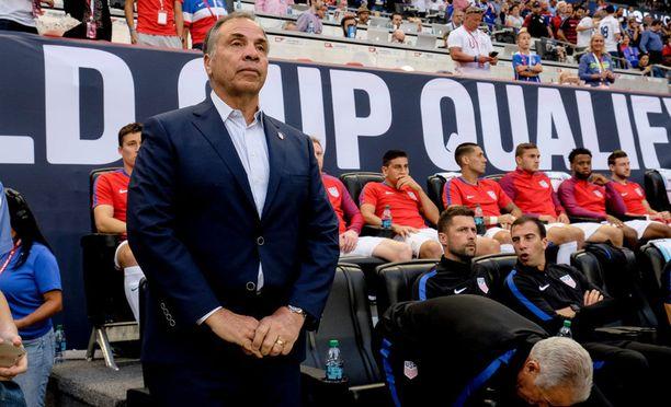 Bruce Arena palasi USA:n maajoukkueen peräsimeen viime marraskuussa, kun Jürgen Klinsmann oli saanut potkut.