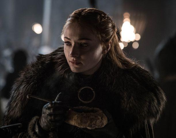 Ja tältä Sansa Stark näyttää Game of Thronesin viimeisellä tuotantokaudella.