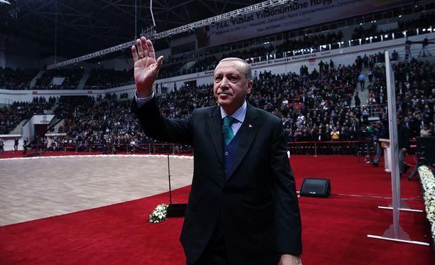 Myös Turkin presidentti Recep Tayyip Erdogan oli Sauli Niinistön postituslistalla.