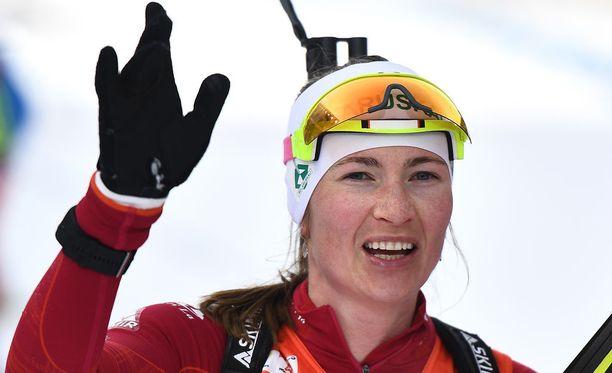 Darja Domratsheva yllätti itsensäkin MM-hopeallaan.