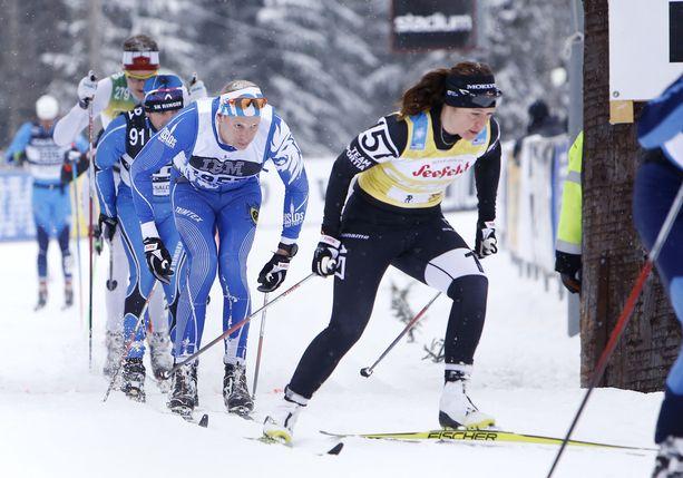 Britta Norgren on erikoistunut pitkän matkan hiihtokilpailuihin.