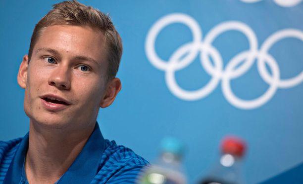 Oskari Mörö jäi miesten 400m aitajuoksussa finaalin ulkopuolelle Rion olympialaisissa.