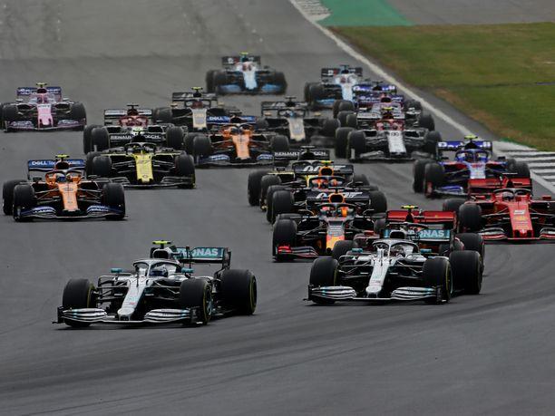 Britannian GP oli kauden kymmenes F1-osakilpailu.
