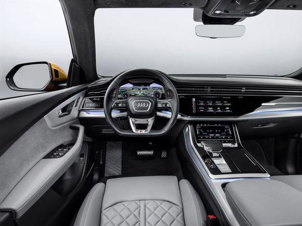 Ohjaamo on sama kuin uudessa Audi A6:ssa, A7:ssa ja A8:ssa.
