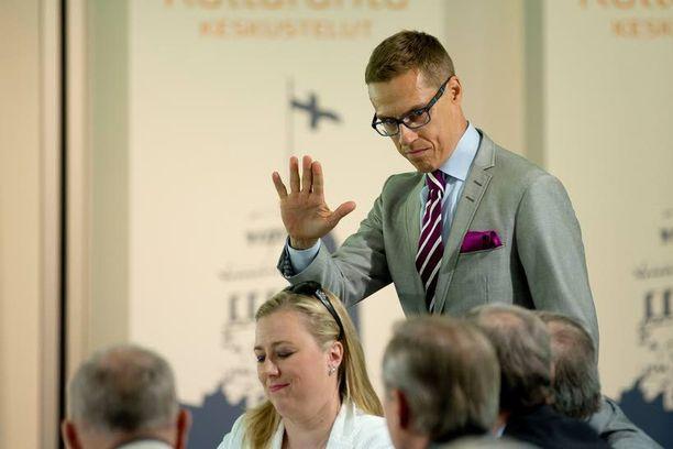 Alexander Stubb haluaisi tuoda Suomeen uuden johtamistavan.