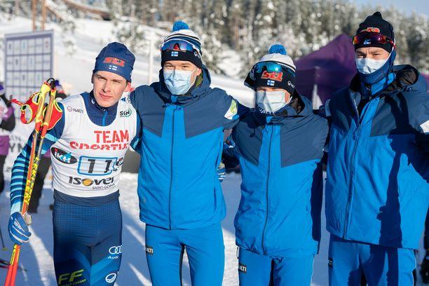 Suomen alle 20-vuotiaiden miesten joukkue nappasi MM-hopeaa.